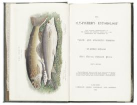 ANGLING RONALDS (ALFRED) The Fly-fisher's Entomology... Sixth Edition, 8vo; and 14 others, anglin...