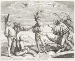 SOUTH SEA BUBBLE Het Groote Tafereel der Dwaasheid, vertoonende de opkomst, voortgang en ondergan...