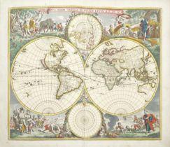 DE WIT (FREDERICK) Atlas, Amsterdam, Frederick de Wit, [c.1688]