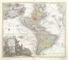 SEUTTER (GEORG MATTHAUS) Atlas novus sive tabulae geographicae totius orbis faciem, partes, impe...
