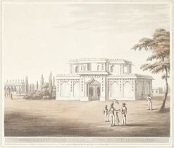 AFTER JAMES HUNTER (1755–1792) 'Music Gallery at the Entrance of the Mosque, Seringapatam'...