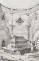 After John Dalbiac Luard (British, 1830-1860) 'Tomb of Shumse-Ud-Din-Altumsh'; and 10 other views...