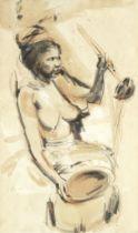 Antonio Blanco (Filipino, 1912-1999) The Rogan Josh Vendor
