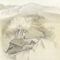 Tay Bak Koi (Singaporean, 1939-2005) 'Under the Shade'