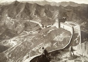 PONTING (HERBERT GEORGE) The Great Wall of China, [1907]