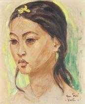 Han Snel (Dutch, 1925-1998) Balinese Girl