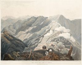 James Baillie Fraser (British, 1783-1856) 'The Ridge and Fort of Jytock'; 'Country to the Nortwhw...