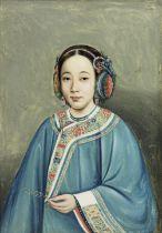 School of Lamqua (Chinese, active 1805-1830) Portrait of a Beauty