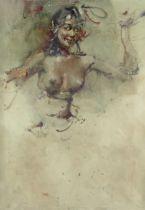 Antonio Blanco (Filipino, 1912-1999) 'Rani in the Clouds'