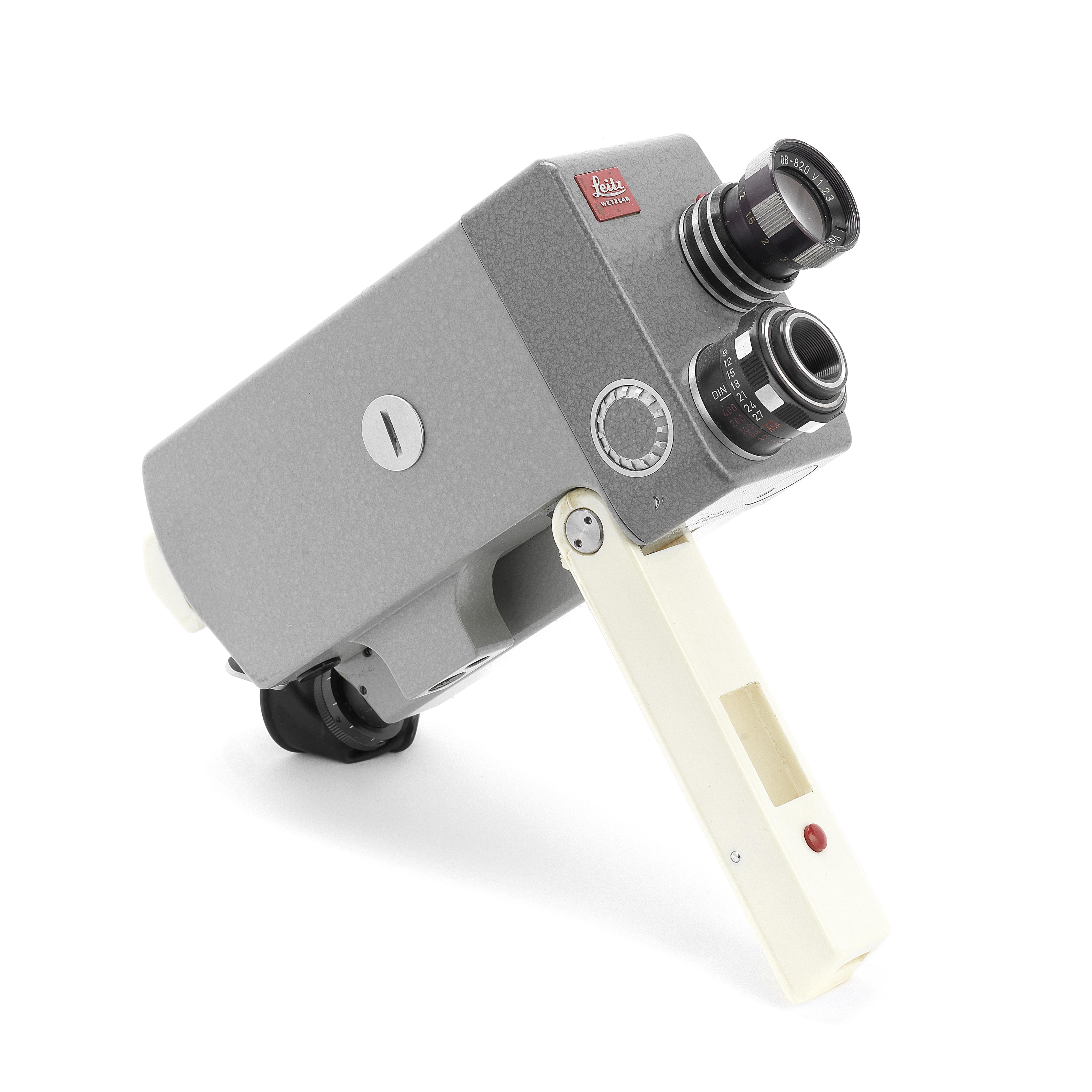 A LEICINA prototype cine camera,