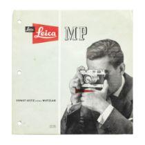 A Leica MP brochure, 1956,
