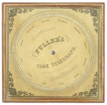 A Fuller's Time Telegraph and Palmer's Computing Scale, English, circa 1850,