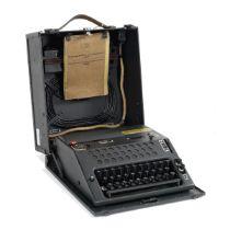 A NEMA TD 459 Cipher Machine, Swiss, third quarter of the 20th century,