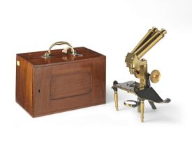 A J. Swift & Son Dissecting Microscope, English, Late 19th century,