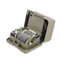 A M-209-B ENCRYPTION MACHINE, SUPPLIED BY L.C. SMITH & CORONA TYPEWRITER INC., American, mid 20th...