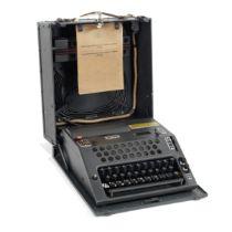 A NEMA TD 688 Cipher Machine, Swiss, third quarter of the 18th century,