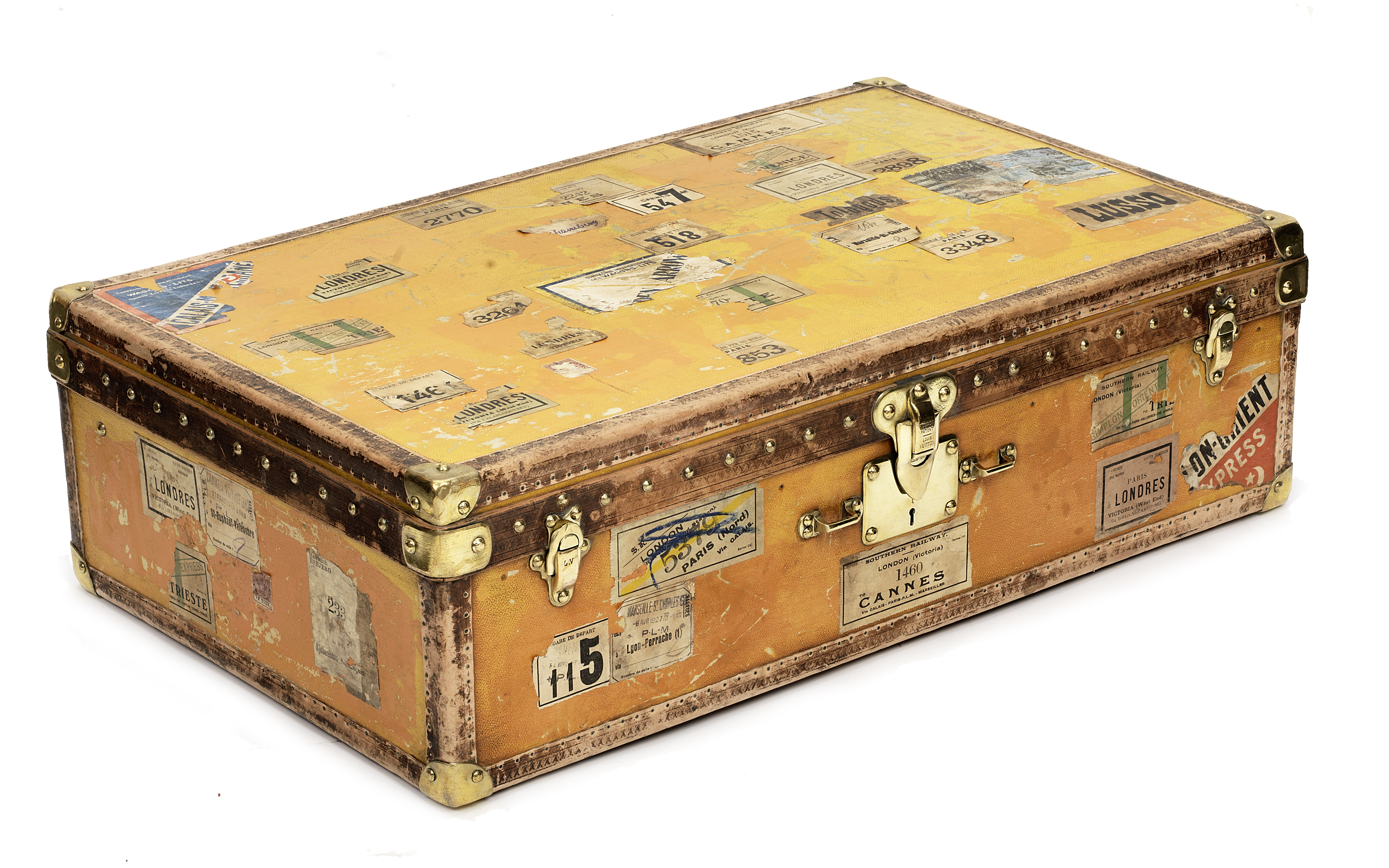 A Louis Vuitton travelling case, 1920s,