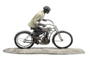Jeff Decker (American, 1966-), 'Walter Davidson - Harley-Davidson's 1000 Plus 5', a limited editi...