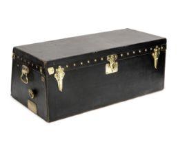 A Louis Vuitton vintage motoring trunk,
