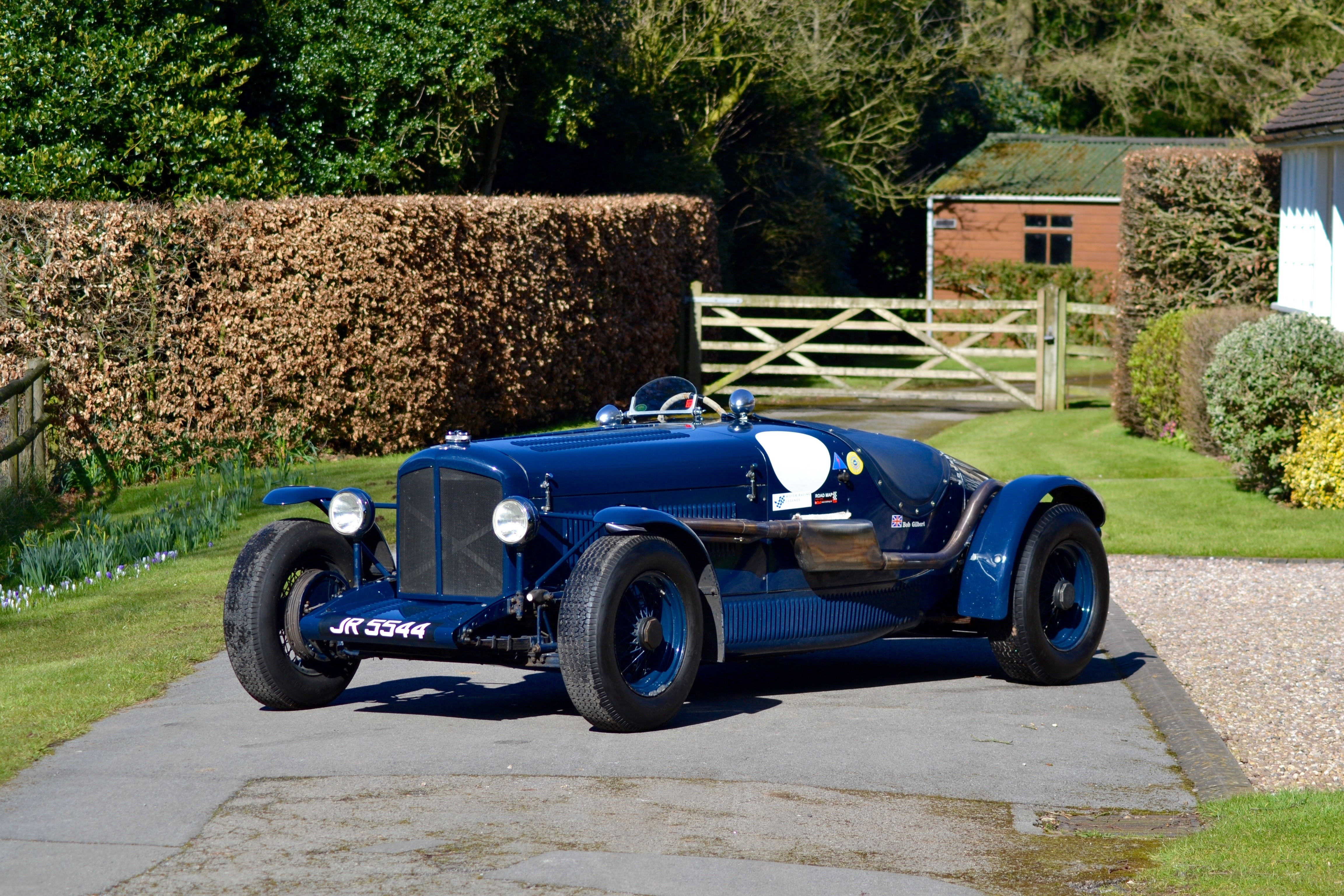 The ex-R M 'Bob' Gilbert; highly successful historic racing,1936 Bentley 4¼-Litre Racing Two...