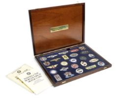 A cased set of 'Badges of the World's Great Motor Cars' by Danbury Mint, ((4))