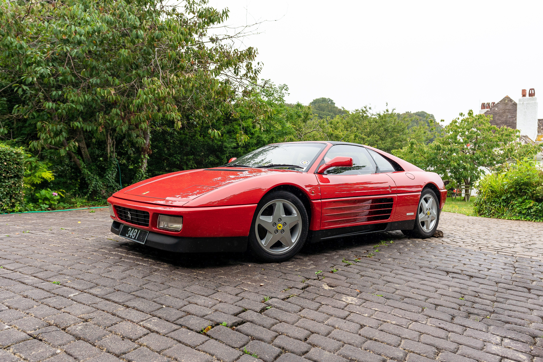 1992 Ferrari 348TS Targa Chassis no. ZFFKA36C000093934