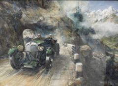 Bryan de Grineau (1883-1957), 'Alpine Trials Rally',