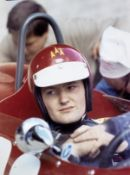 'Pilote, che gente', signed by Enzo Ferrari and many drivers, presented to Jonathan Williams, (...