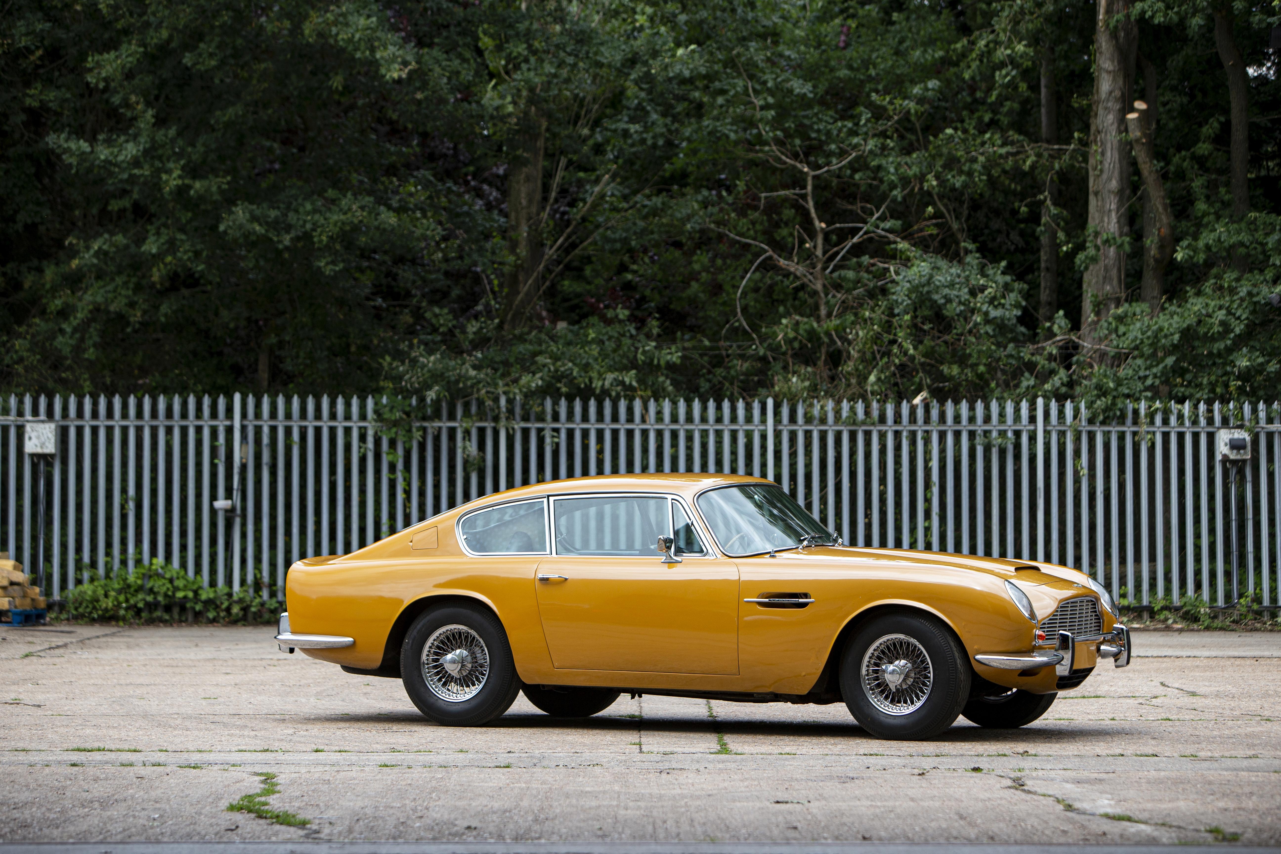 1970 Aston Martin DB6 Mk2 Sports Saloon Chassis no. DB6MK2FI/4134/R