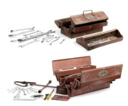 Two original Britool tool boxes with tools, ((Qty))