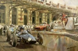 Craig Warwick (British), 'BRM's First Monaco Grand Prix Win 1963 - Graham Hill',