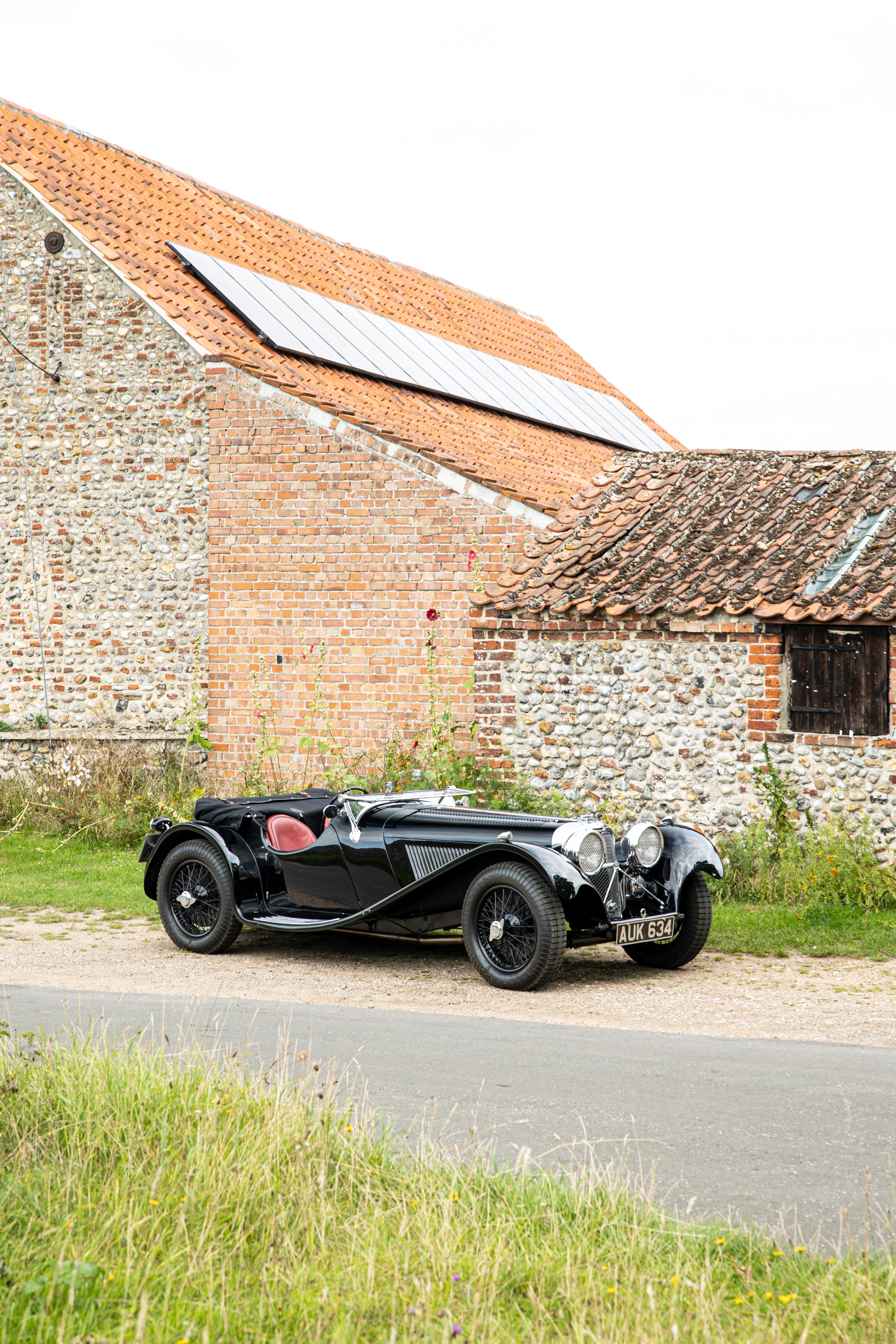 1937 Jaguar SS100 2½-Litre Roadster Chassis no. 18109