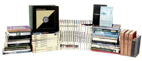 Automobile Year annuals 37 to 59 (1989/90 to 2011/12), and other motor racing related books, ((...