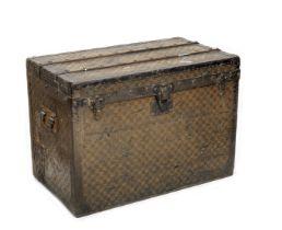 A Louis Vuitton steamer trunk, circa 1900,