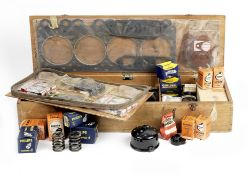 A wooden-cased No.15 'Overseas Touring Spares Kit' for Rolls-Royce and Bentley, 1964,