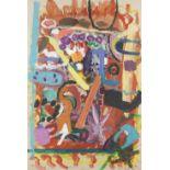 Gillian Ayres C.B.E., R.A. (British, 1930-2018) Untitled 119.3 x 80 cm. (47 x 31 1/2 in.)
