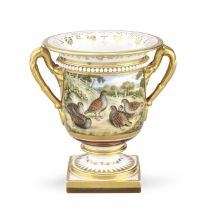 A Flight, Barr and Barr Worcester vase, circa 1825