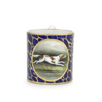 An early Grainger and Co Worcester mug, circa 1810