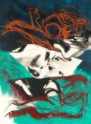 John Piper C.H. (British, 1903-1992) Stones and Bones The complete portfolio of twenty-seven scre...