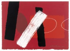 Wilhelmina Barns-Graham C.B.E. (British, 1912-2004) Red Playing Games I Screenprint in colours, 2...
