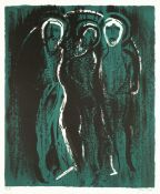John Piper C.H. (British, 1903-1992) The Visitation Lithograph printed in colours, 1975, on wove,...