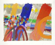Albert Irvin R.A. (British, 1922-2015) Magdalen Screenprint in colours, 1986, on wove, signed, t...