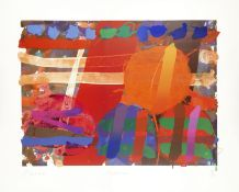 Albert Irvin R.A. (British, 1922-2015) Copperas Screenprint in colours, 1991, on wove, signed, t...