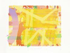 Albert Irvin R.A. (British, 1922-2015) Greenwich III Screenprint in colours, 1991, on wove, signe...