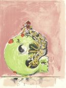 Graham Sutherland O.M. (British, 1903-1980) Ram's Head (facing left); Emerging Insect, from 'A B...