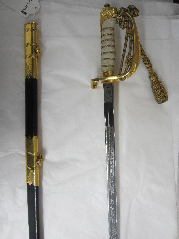 A G.VI.R. Royal Navy Officer's Sword,