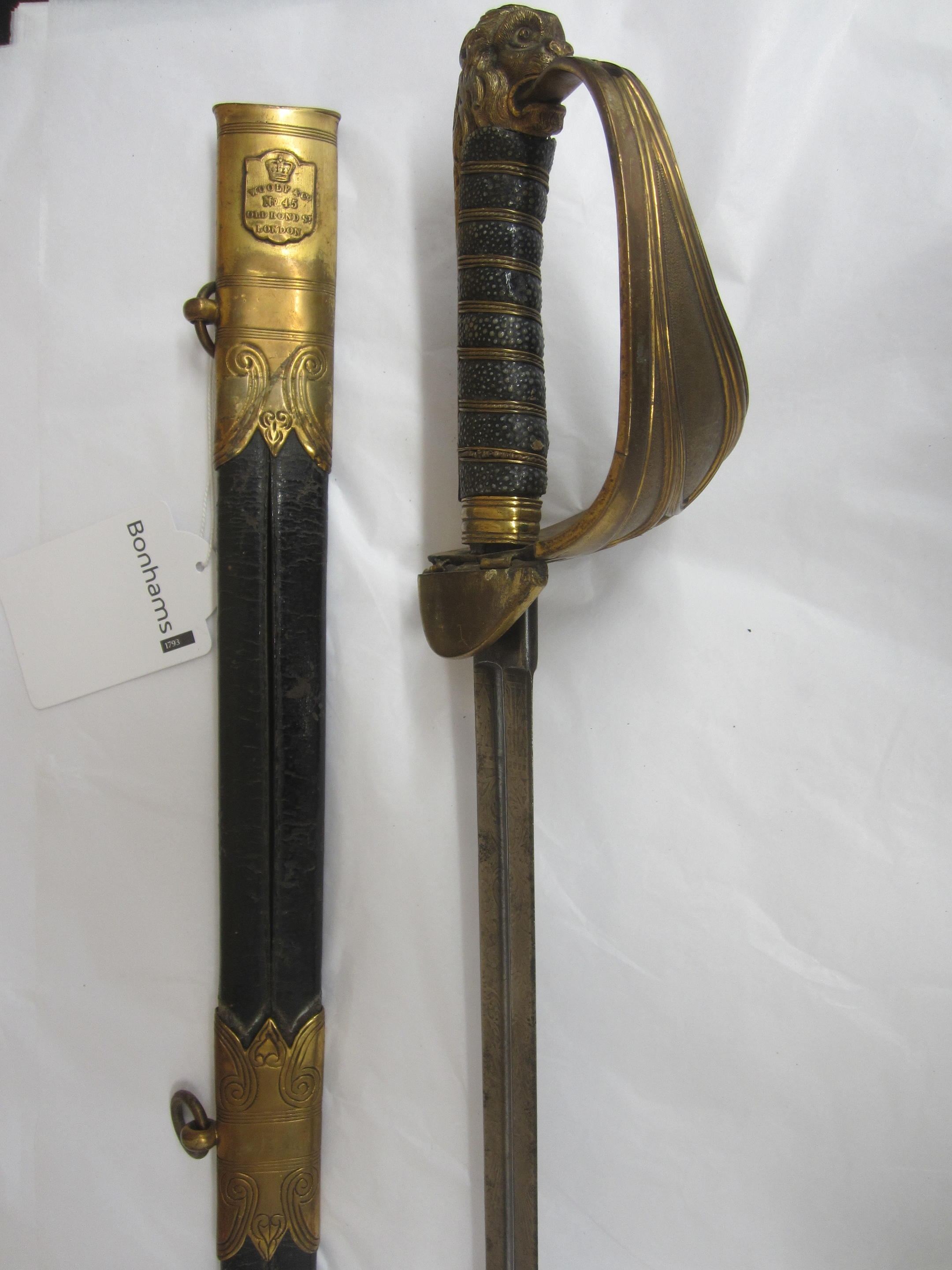 A Victorian Naval Officer's Sword,