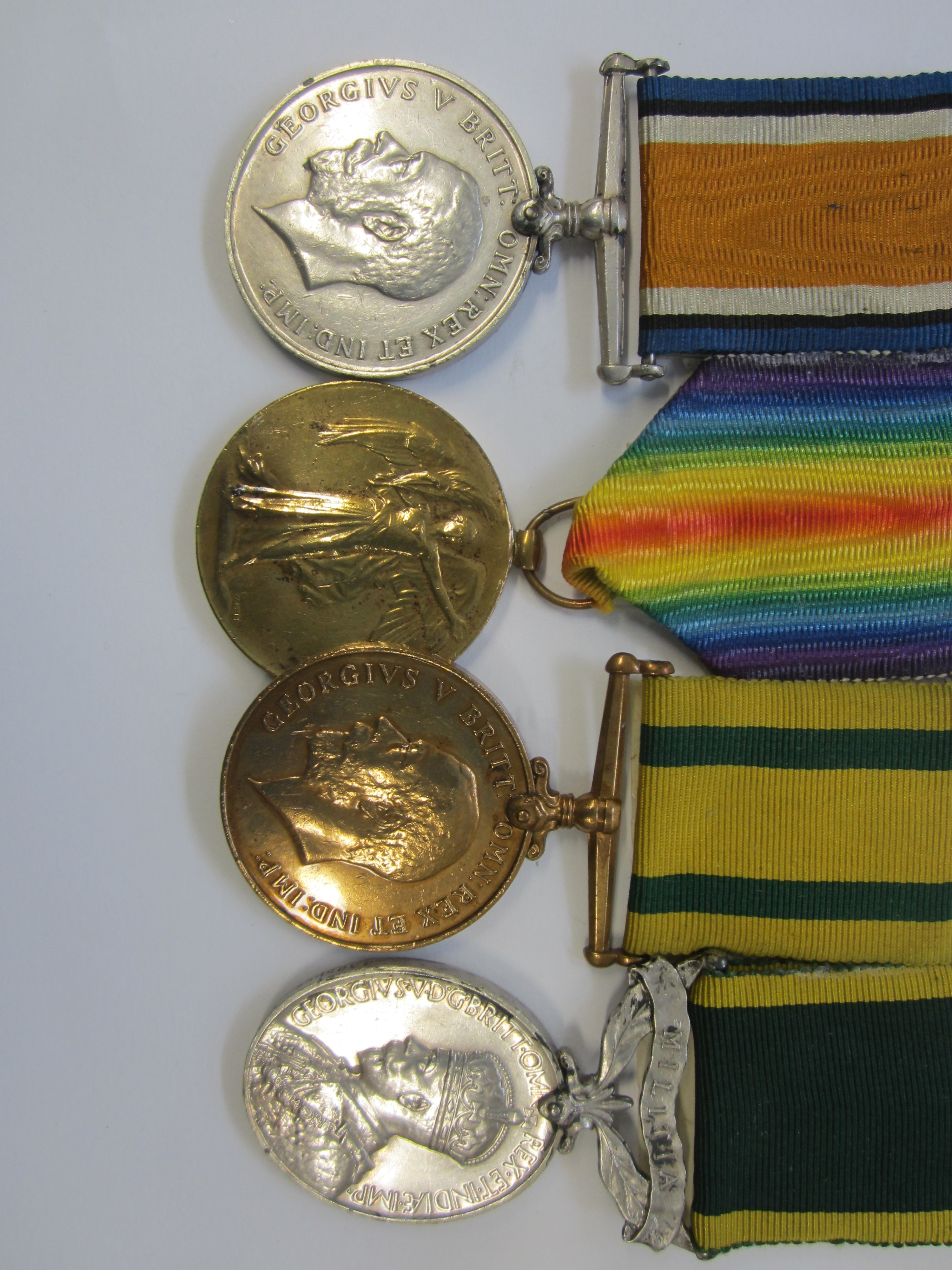Four to Private H.C.Grieve, Royal Signals late Lincolnshire Regiment,
