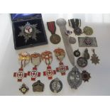 Assorted Medals, Badges and Miscellaneous,