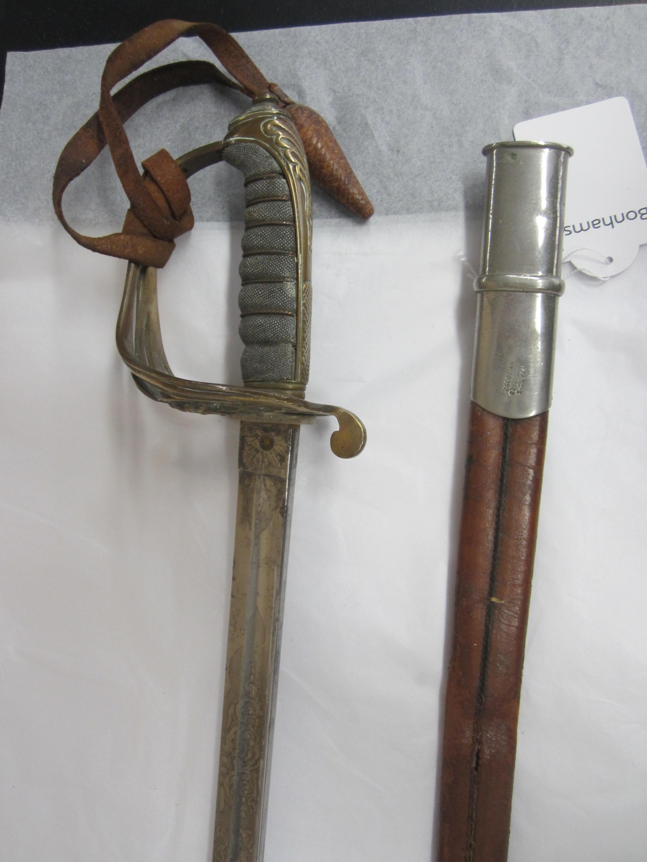 An 1822 Infantry Officer's Sword,